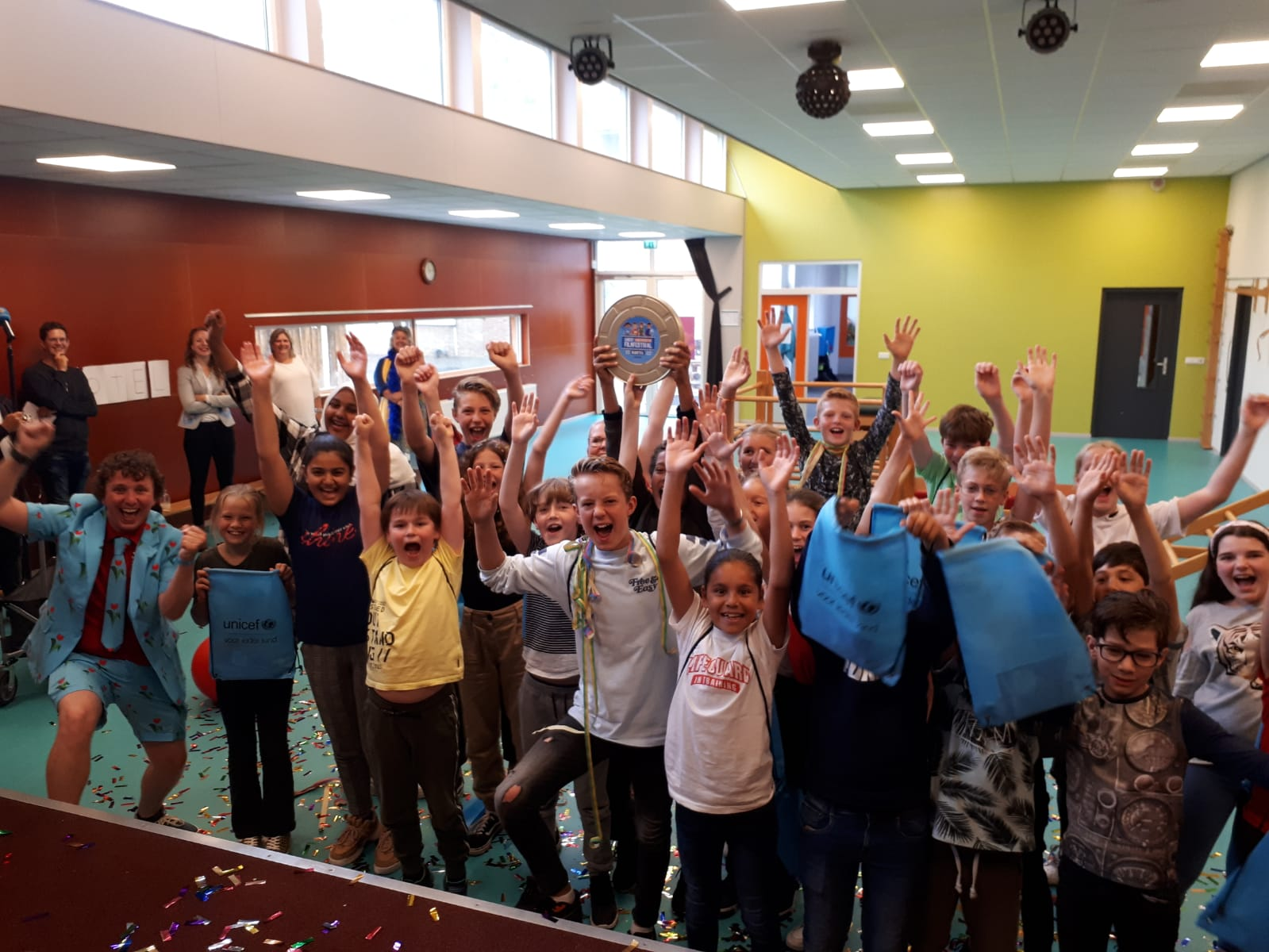 Halve finale Boxtels Unicef kinderrechten filmfestival