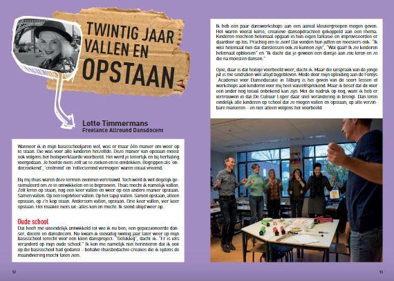 Vier het vallen artikel Lotte Timmermans