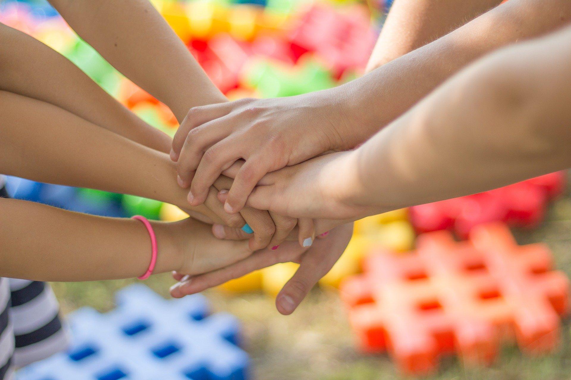 handen, kinderen